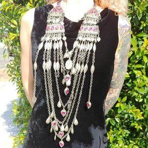 Vintage Hagarazi tribal necklace